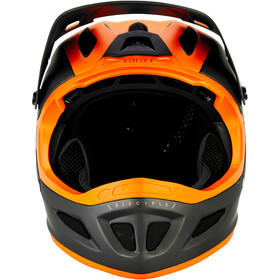 Giro Disciple MIPS Casco, matte warm black/orange